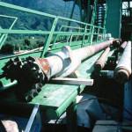 Prospezione per pozzo di ricerca di acque termali per la Città di Merano: la CGA Sagl ha eseguito la DL scientifica dei primi 720 m con l'attraversamento delle alluvioni quaternarie