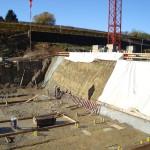 Gestione delle acque sorgentizie e di falda in cantiere edile