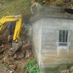 Intervento di miglioria in una sorgente sul Monte San Giorgio