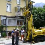 Pozzo per acqua ad uso geotermico per abitazione, portate fra 50 e 150 l/min
