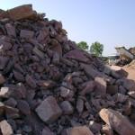 Indagini e analisi petrografiche su materiali rocciosi ad uso industriale (ad es. ad uso edile) nella Cava di Marmirolo (Italia)