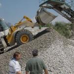 CGA Sagl esegue indagini e analisi petrografiche su materiali rocciosi ad uso industriale (ad es. Granito di Novate Mezzola come ballast ferroviario)